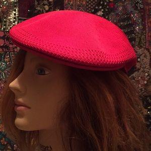 Red kangol driver hat medium